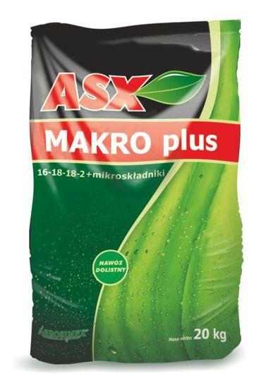 Nawóz NPK 16-18-18-2 ASX Makro Plus