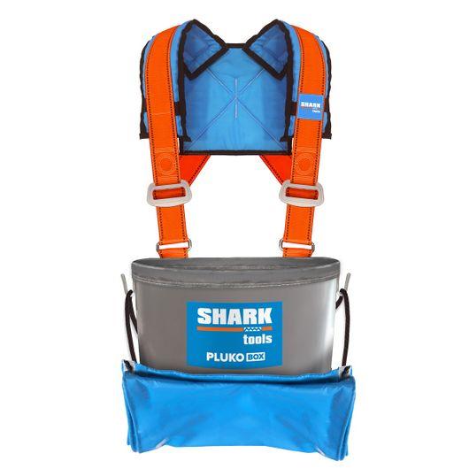 PLUKO BOX z szelkami SHARK 10-12kg